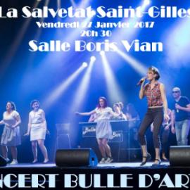Nouveau spectacle inédit de la Troupe au profit de «La Fée Bleue» le 27/01/2017 à la Salvetat Saint-Gilles