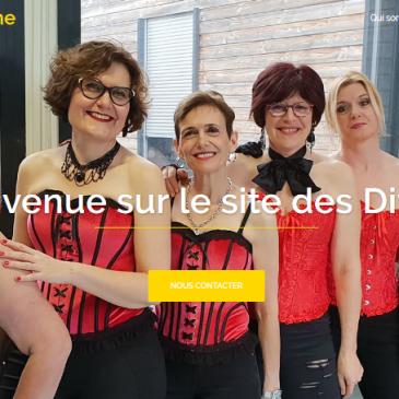 Les Divines ont leur propre site internet  : www.divinesenscene.free.fr !