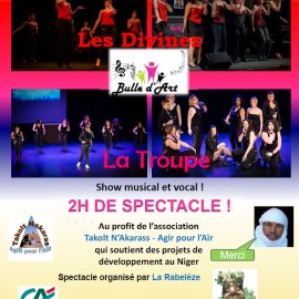 Les concerts Bulle d'Art – Avril / Mai 2017 !