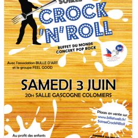 Soirée du Crock'N Roll 2017 ! Le 3 Juin 2017 à la Salle Gascogne !