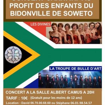 Saison 219-2020 : Premier Concert de la Troupe Bulle d'Art le 30 novembre 2019 !!
